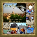 Album Cover from trip to Italy, summer 2013. Created with Storybook Creator/Artisan software.